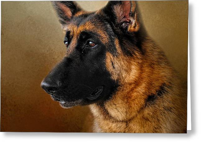 Best In Show - German Shepherd Greeting Card