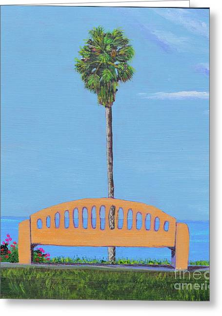 Best Seat In San Clemente Greeting Card