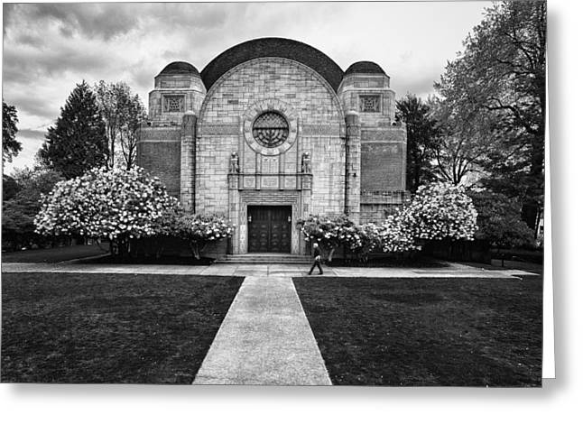 Beth-israel Synagogue Greeting Card by Niels Nielsen