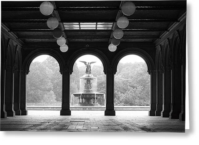 Bethesda Terrace  1990s Greeting Card