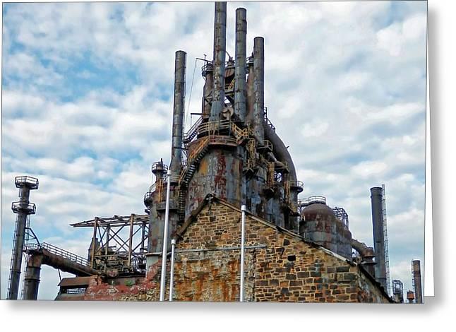 Bethlehem Steel # 2 Greeting Card