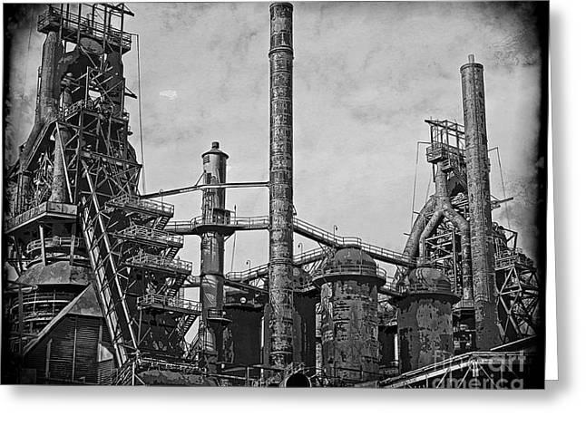 Bethlehem Steel #3 Greeting Card