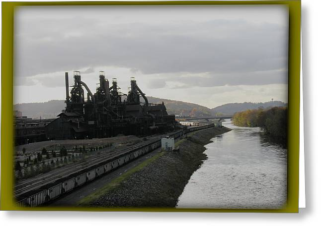 Bethlehem Steel Greeting Card