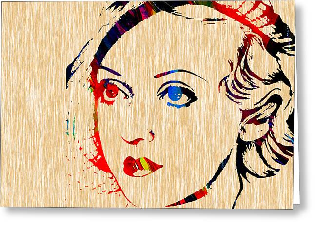 Bette Davis Collection Greeting Card by Marvin Blaine