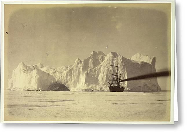 Between The Iceberg And Field-ice Greeting Card by British Library