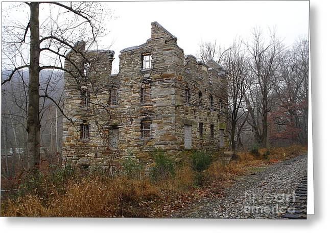 Greeting Card featuring the photograph Beverly Chapman's Mill by Jane Ford