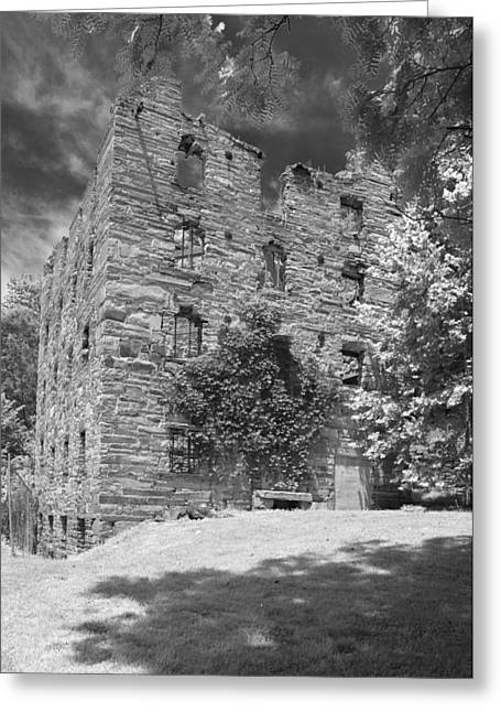 Beverly Mill Greeting Card by Guy Whiteley