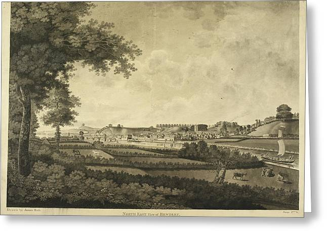 Bewdley And Surrounding Countryside Greeting Card by British Library