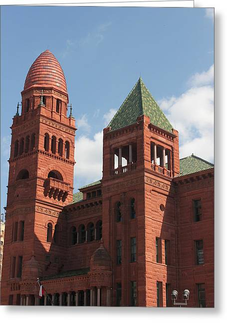 Bexar County Courthouse Greeting Card