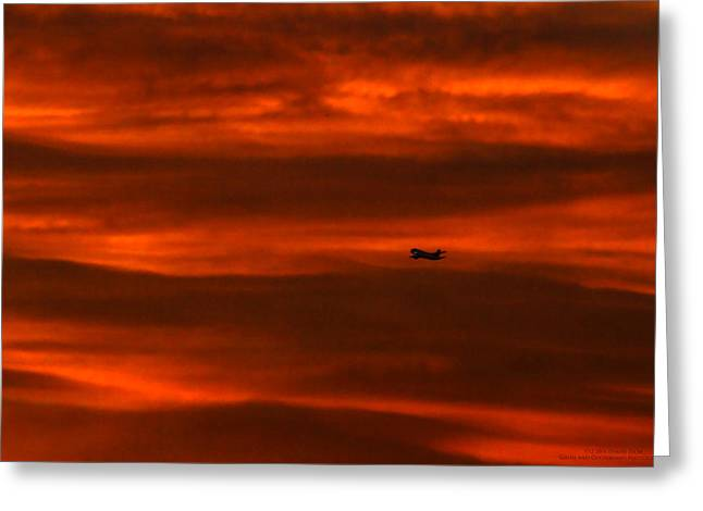Beyond Now By Denise Dube Greeting Card