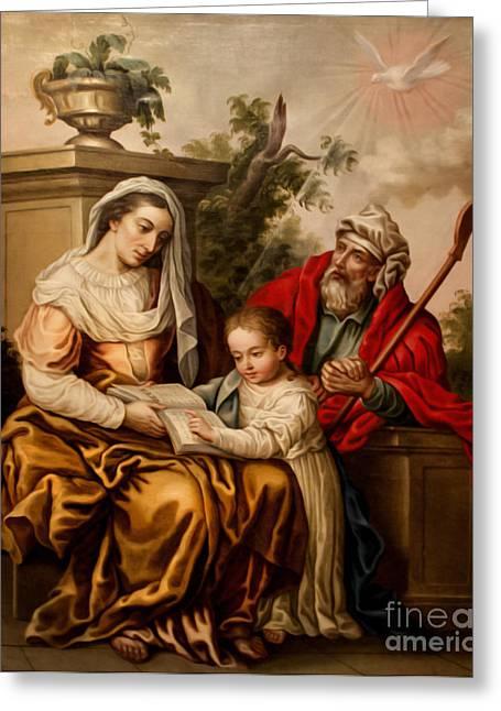 Biblical Instruction Greeting Card