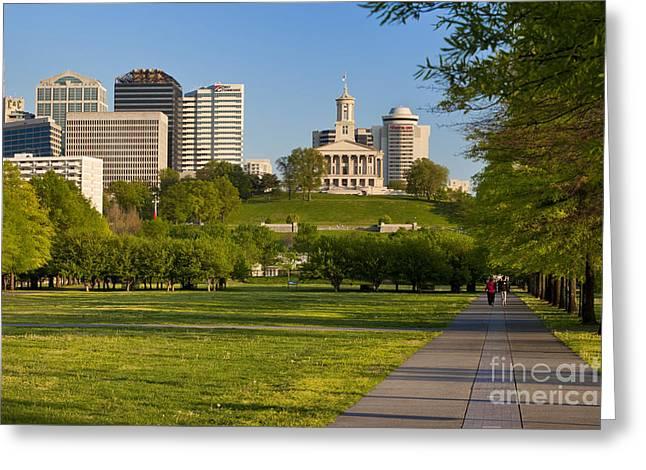 Bicentennial Park Nashville Greeting Card