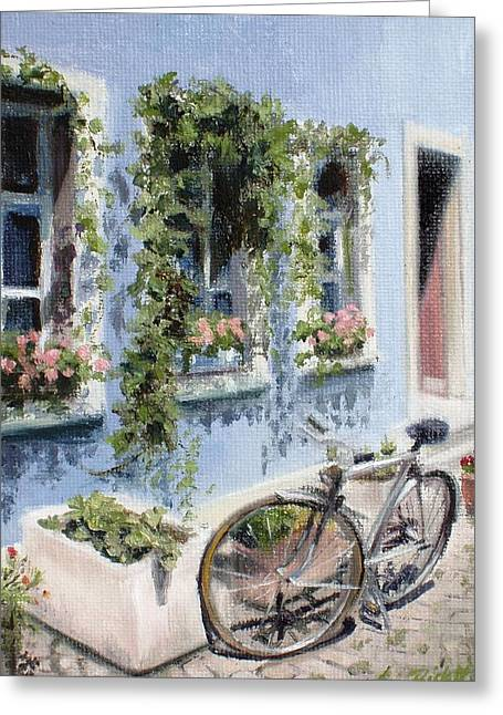 Bicycle In Zurich Greeting Card