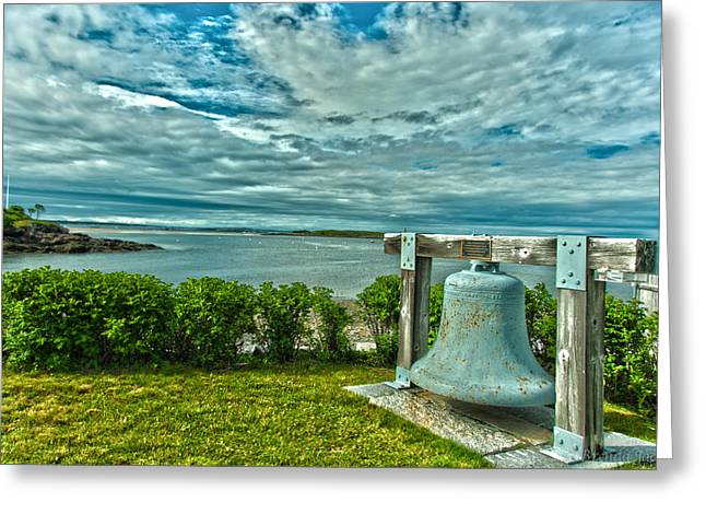 Biddeford Pool Bell Greeting Card