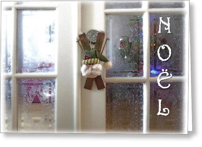 Bientot Noel Greeting Card