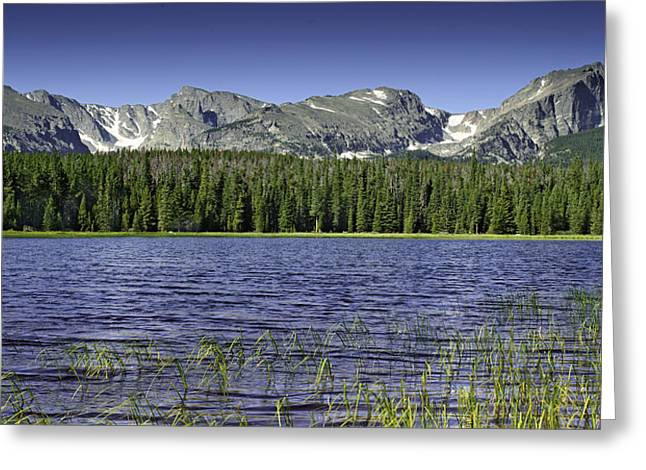 Bierstadt Lake Greeting Card by Tom Wilbert