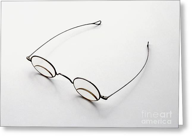 Bifocal Spectacles, 1885 Greeting Card by Dave King / Dorling Kindersley / Science Museum, London