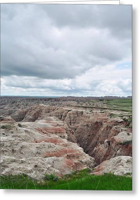 Big Badlands Overlook Greeting Card
