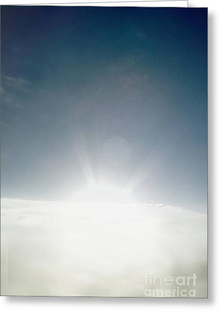 Big Bang Greeting Card by Margie Hurwich