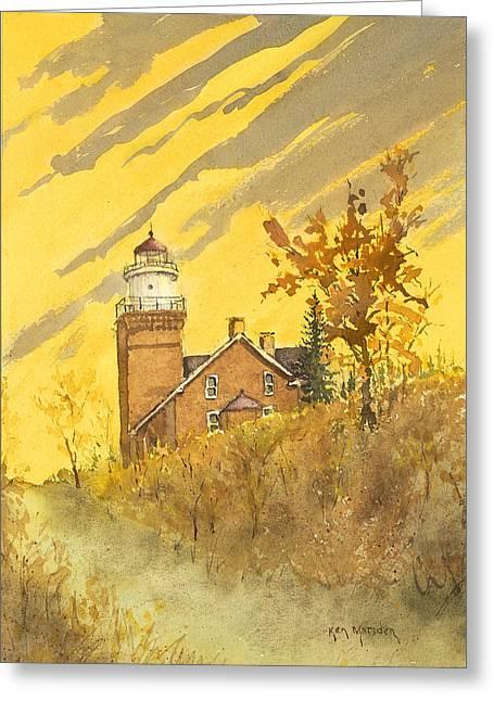 Big Bay Lighthouse Greeting Card