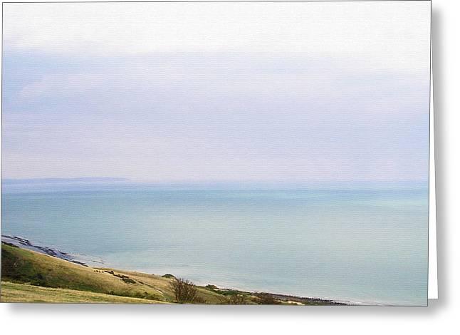 Big Beachy Head Sky ... As A Canvas Greeting Card