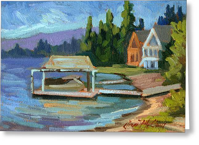 Big Bear Lake South Shore 2 Greeting Card by Diane McClary