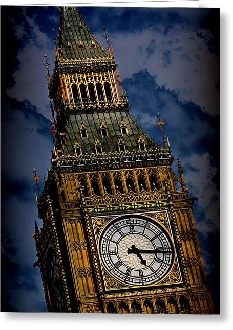 Big Ben 5 Greeting Card by Stephen Stookey