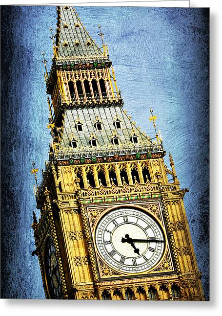Big Ben 7 Greeting Card by Stephen Stookey