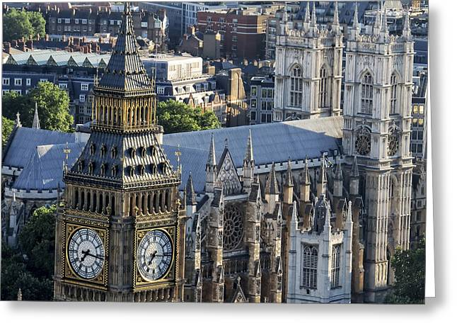 Big Ben And Westminster Greeting Card