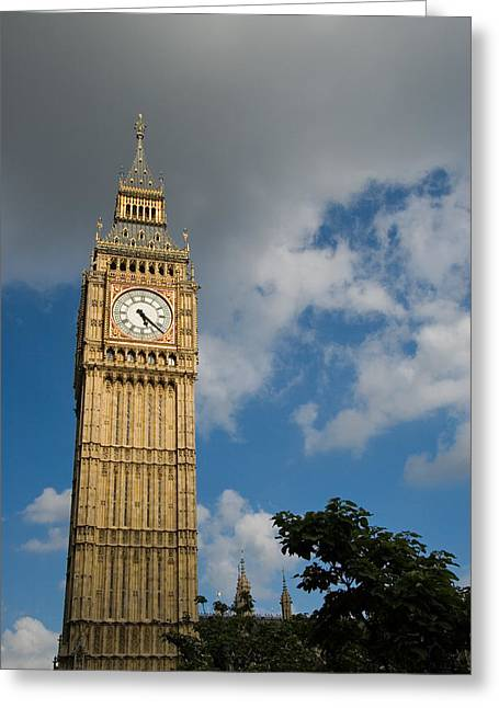 Greeting Card featuring the photograph Big Ben by Jeremy Voisey