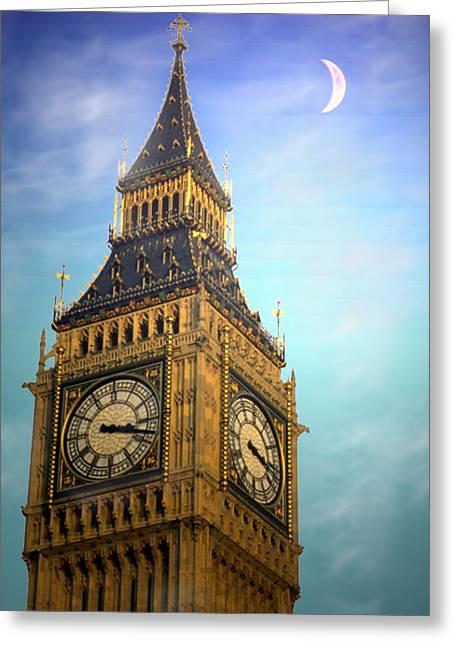 Big Ben Greeting Card by Joyce Dickens