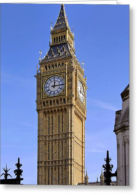 Greeting Card featuring the photograph Big Ben by Stephen Anderson