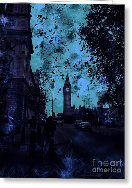 Big Ben Street Greeting Card