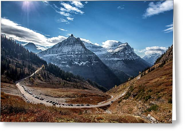 Greeting Card featuring the photograph Big Bend by Aaron Aldrich