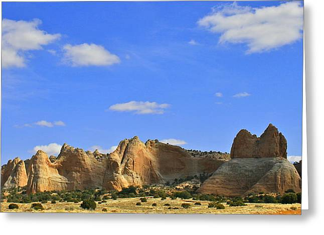 Greeting Card featuring the photograph Big Blue Sky by Kathleen Scanlan