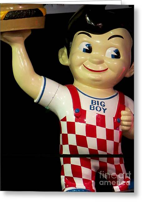 Big Boy Greeting Card