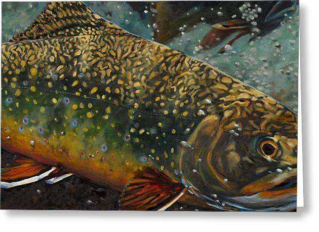 Big Brookie Greeting Card