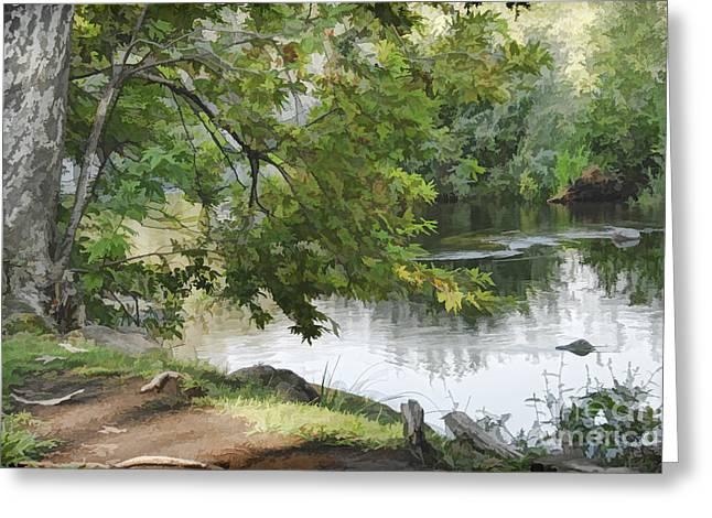 Big Chico Creek Greeting Card