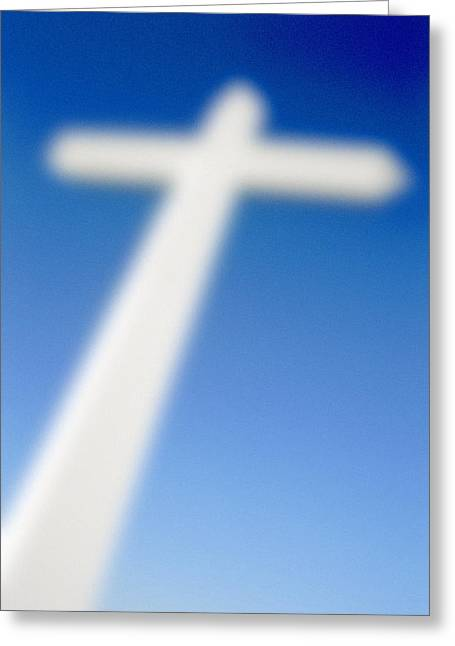 Big Cross Greeting Card