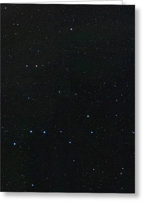 Big Dipper And Ursa Minor Constellation Greeting Card by Eckhard Slawik