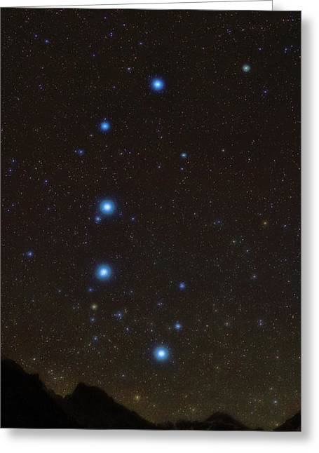 Big Dipper Over Mount Everest Greeting Card by Babak Tafreshi