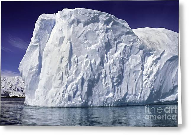 Big Iceberg Greeting Card by Boon Mee