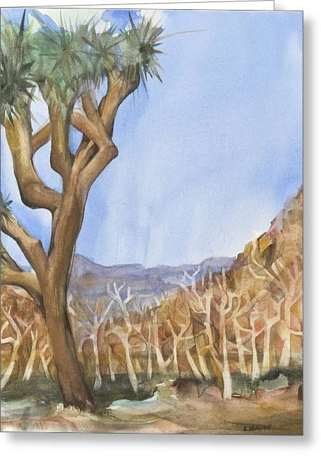 Big Joshua Tree Greeting Card