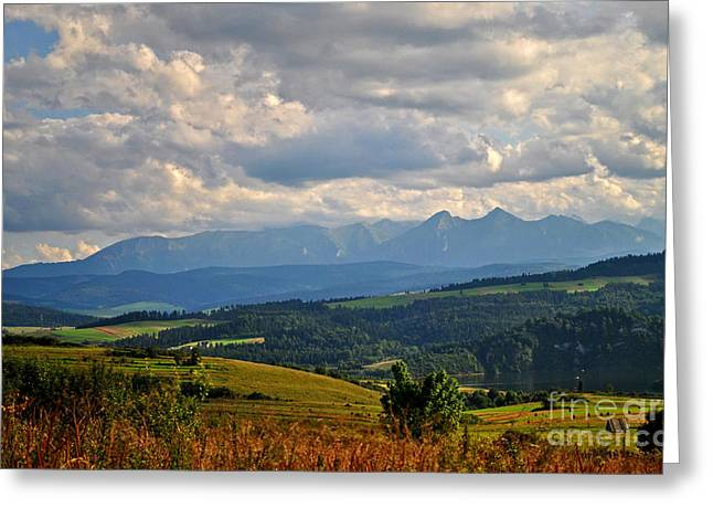 Big Open Skies Over Tatra Moutains Greeting Card by Maja Sokolowska