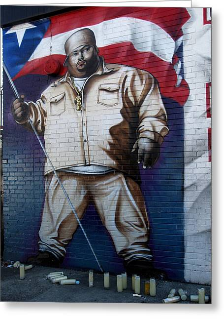 Big Pun Greeting Card
