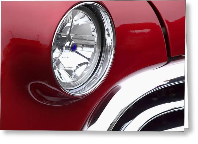 Big Red Oldsmobile Greeting Card
