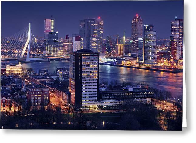 Big Rotterdam 2 Greeting Card