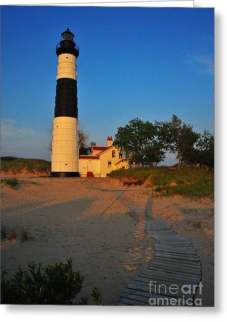 Big Sable Point Greeting Card