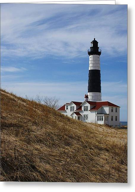 Greeting Card featuring the photograph Big Sable by Randy Pollard