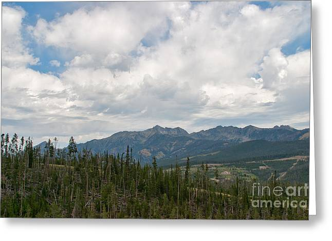 Big Sky Cloudscape Greeting Card by Charles Kozierok